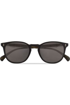 Oliver Peoples Finley ESQ Sunglasses Matte Black/Moss Tortoise