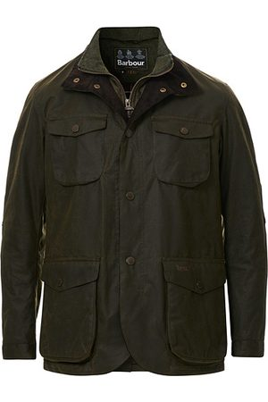 Barbour Miehet Päällystakit - Ogston Waxed Jacket Olive