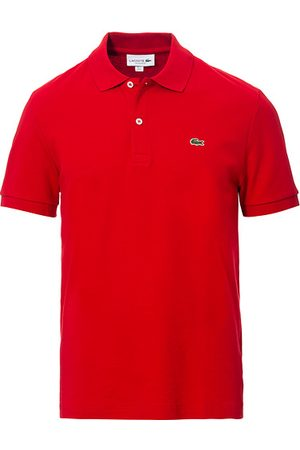 Lacoste Miehet Pikee - Pima Interlock Polo Pique Rouge Red