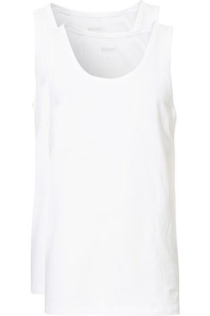 HUGO BOSS Miehet Topit - 3-Pack Tank Top White