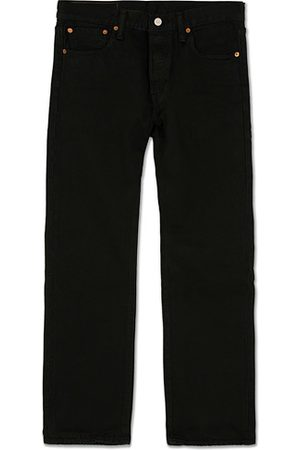 Levi's Miehet Farkut - 501 Original Fit Jeans Black