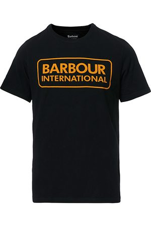 Barbour Miehet T-paidat - Large Logo Crew Neck Tee Black