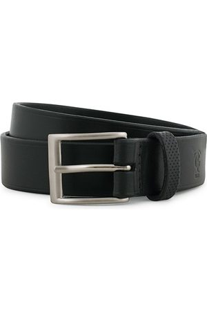 Tarnsjo Garveri Miehet Vyöt - Leather Belt 3cm Black