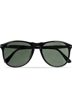 Persol Miehet Aurinkolasit - PO9649S Sunglasses Black/Crystal Green