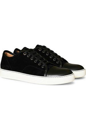 Lanvin Miehet Tennarit - Nappa Cap Toe Sneaker Black
