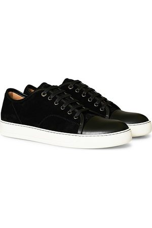 Lanvin Nappa Cap Toe Sneaker Black