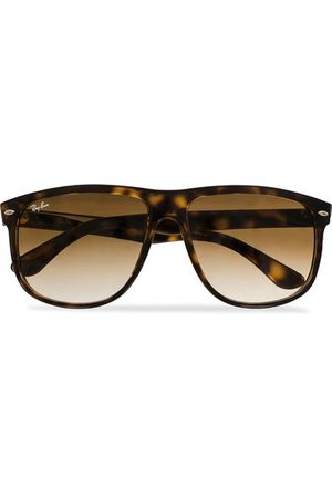 Ray-Ban Miehet Aurinkolasit - RB4147 Sunglasses Light Havana/Crystal Brown Gradient