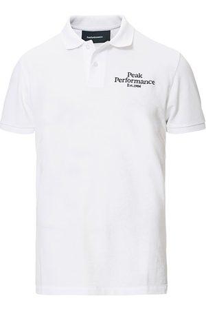 Peak Performance Miehet Pikee - Original Logo Polo White