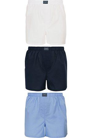 Polo Ralph Lauren 3-Pack Woven Boxer White/Blue/Navy