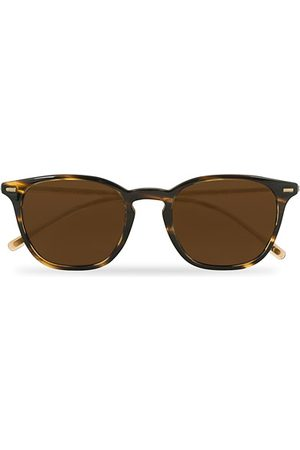 Oliver Peoples Miehet Aurinkolasit - Heaton Sunglasses Cocobolo/Brown