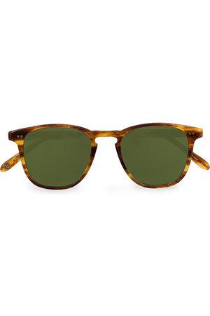 GARRETT LEIGHT Miehet Aurinkolasit - Brooks 47 Sunglasses Pinewood/Pure Green