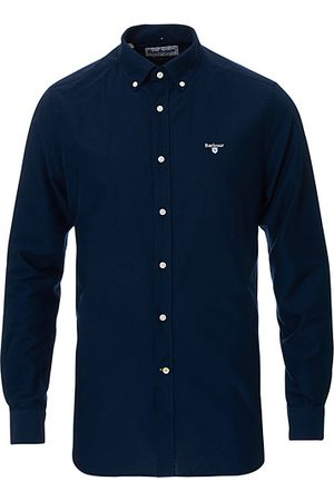 Barbour Miehet Bisnes - Tailored Fit Oxford 3 Shirt Navy