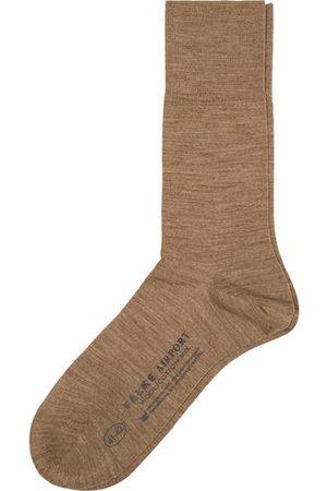 Falke Miehet Sukat - Airport Socks Nutmeg Melange