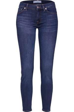 7 for all Mankind Naiset Skinny - Jeans 'The Skinny Crop
