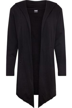 Urban classics Collegetakki 'Long Hooded Open Edge Cardigan