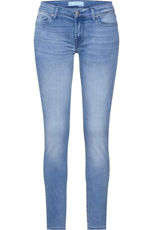 7 for all Mankind Jeans 'THE SKINNY CROP BAIR MIRAGE