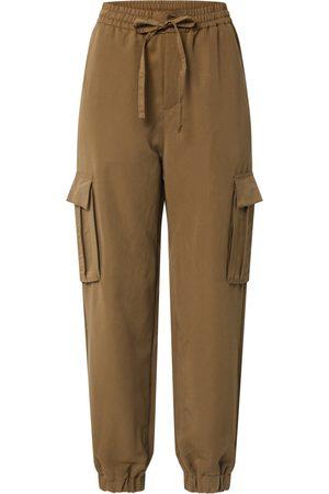 Urban classics Cargo trousers 'Ladies Viscose Twill Cargo Pants
