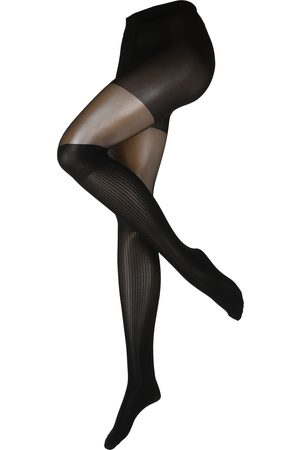 Swedish Stockings Nylonsukkahousut 'Dagmar Over-knee Tights Black