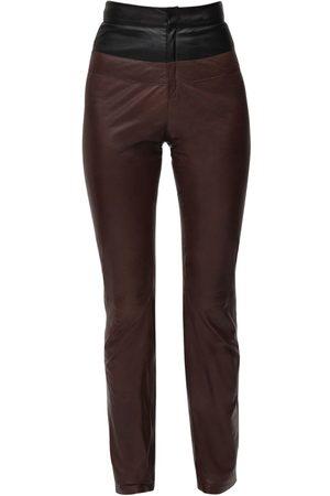 Zeynep Arcay Bicolor Leather Pants