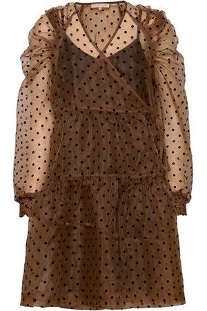 Soft Rebels Tula Midi Wrap Dress Lyhyt Mekko