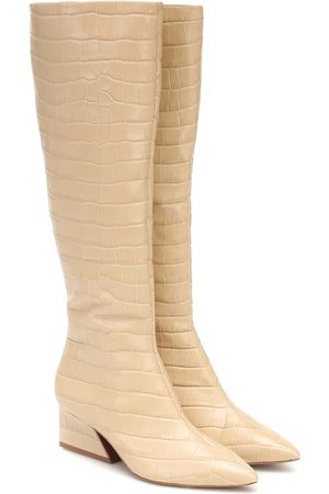 Mercedes Castillo Kyle leather knee-high boots