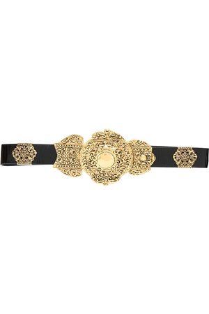 Saint Laurent Naiset Vyöt - Engraved-buckle belt