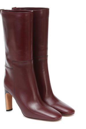 Jil Sander Naiset Nilkkurit - Leather mid-length boots