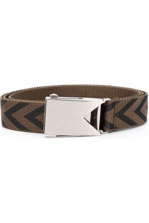 Bottega Veneta Chevron belt