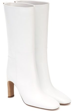 Jil Sander Leather mid-length boots