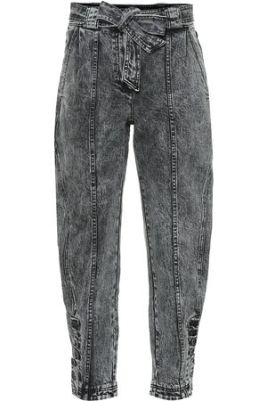 ULLA JOHNSON Carmen high-rise tapered jeans