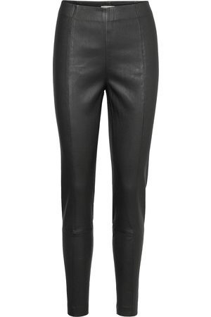 Part Two Naiset Nahkahousut - Tessapw Stretch Pa Tessapw Leather Leggings/Housut