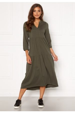 Happy Holly Gabriella dress Khaki green 44/46