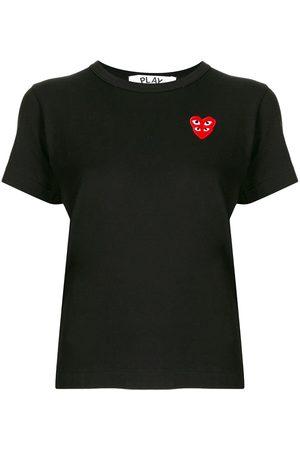 Comme des Garçons Logo hear print T-shirt