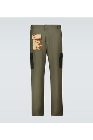GR10K Contrast pocket cargo pants