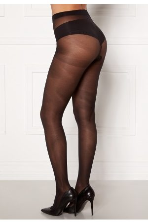 Pieces New Nikoline 2-pack 20 d Tights Black M/L