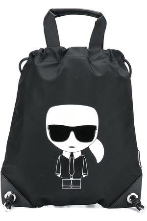 Karl Lagerfeld Naiset Reput - Ikonik Karl backpack