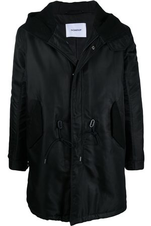 Dondup Drawstring-waist hooded coat