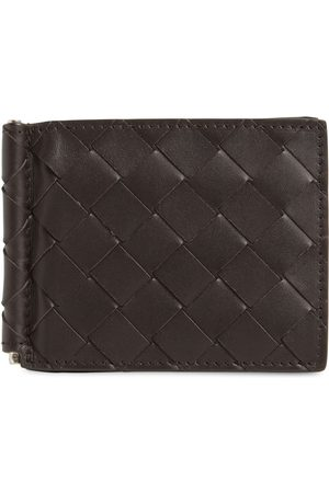 Bottega Veneta Intrecciato Leather Clip Wallet