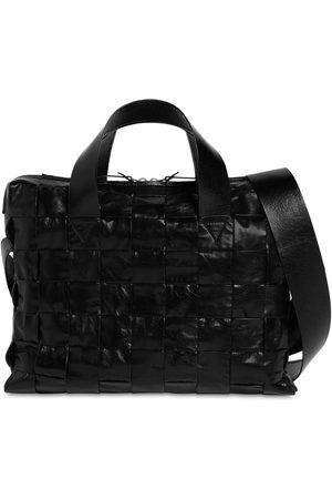 Bottega Veneta The Cassette Leather Briefcase