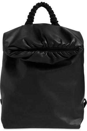 Bottega Veneta Medium Waterproof Leather Backpack