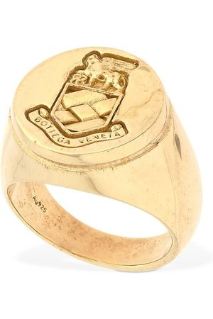 Bottega Veneta Silver Lion Ring