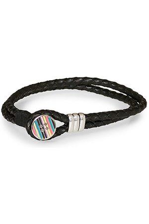 Paul Smith Miehet Rannekorut - Enamel Button Bracelet Black