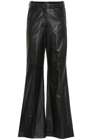 Joseph Naiset Nahkahousut - Tambo high-rise leather pants