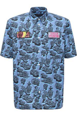 Stella McCartney Printed Cotton Shirt W/ Patches