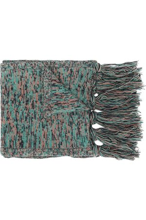 PRINGLE OF SCOTLAND Tassel-hem long scarf