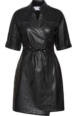 Designers Remix Marie Wrap Dress Polvipituinen Mekko