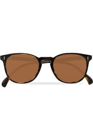 Oliver Peoples Miehet Aurinkolasit - Finley ESQ Sunglasses Cocobolo/Brown