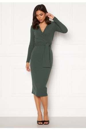 BUBBLEROOM Ines jersey dress Green L