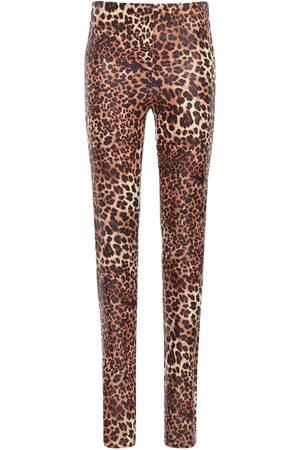STAND Cordelia Coated Faux Leather Leggings
