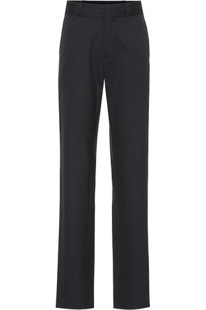 Vetements High-rise stretch-wool pants